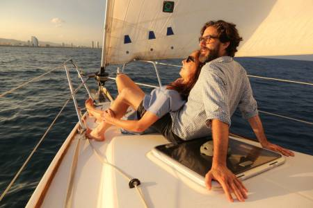 2-Hour Sunset Tour On Sailboat In Barcelona