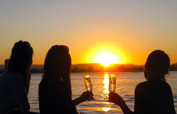 Tagus River Boat Tour Sunset