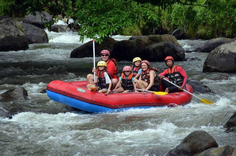 Bali Rafting Adventure With Lunch On The Ayung River Experitour Com