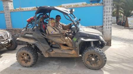 2H Buggy Desert Adventure In Santa Maria, Insel Sal, Kap Verde
