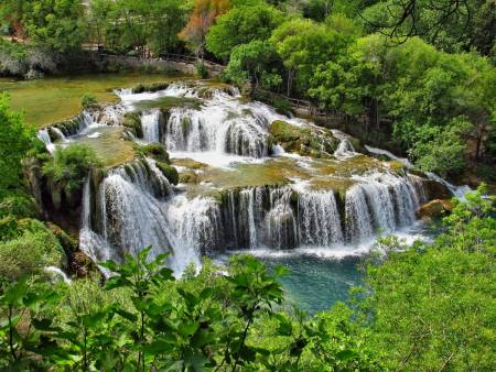Krka Waterfalls Tour & Free Wine Tasting