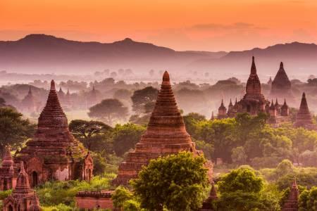 Halber Tag Bagan Tempel Tour – Von Yangon, Myanmar
