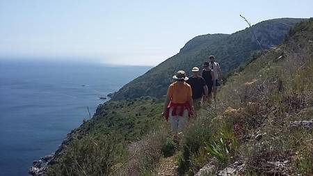 Hiking Tour & Snorkeling To Baleeira Beach – Sesimbra