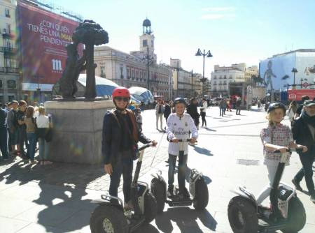 Madrid 2-Hour Private Segway Tour