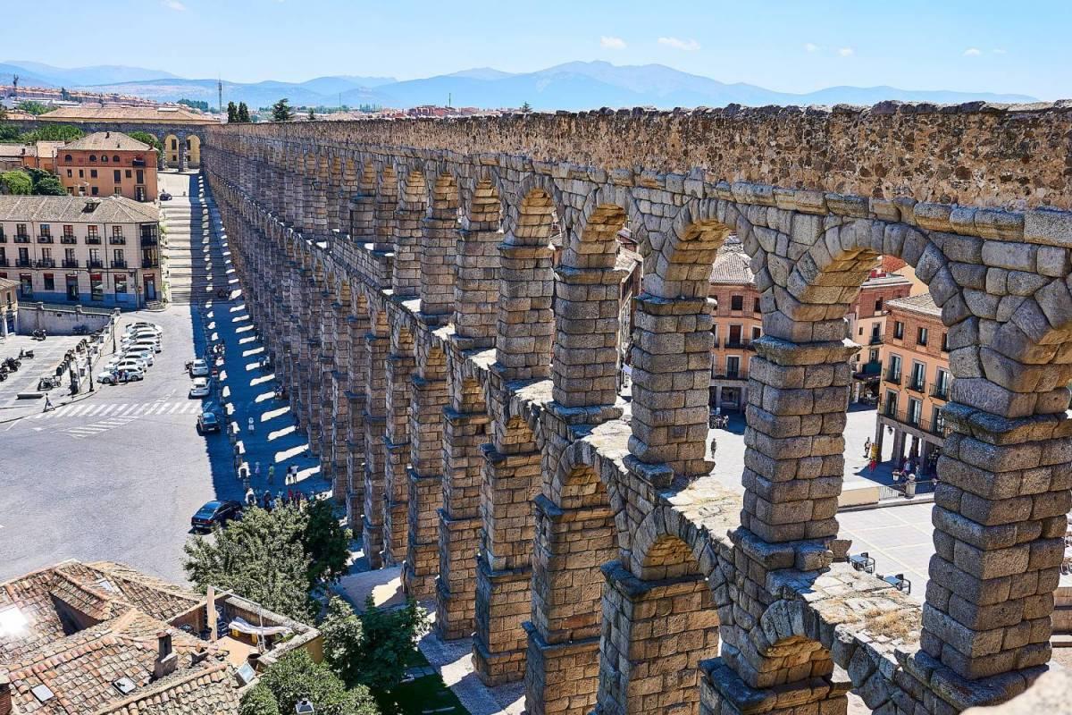 Segovia And Toledo Spain