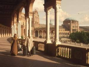 Star Wars Episode II in Plaza de España
