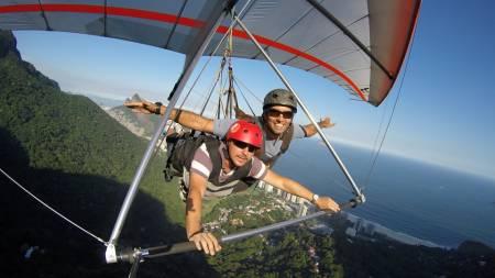 Deltaplane Vol En Tandem À Rio De Janeiro