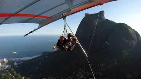 Hang Gliding Tandem Flight In Rio De Janeiro