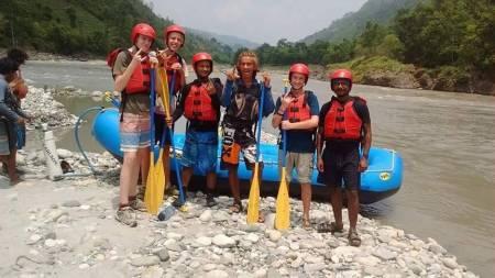 1 Tag Rafting Auf Trishuli Fluss In Nepal