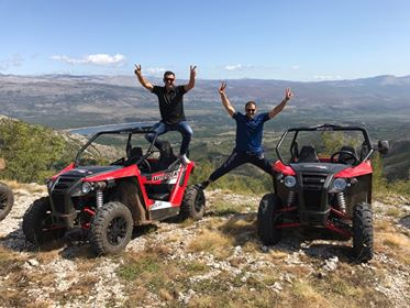 Buggy Adventure Mountain, Cetina Region