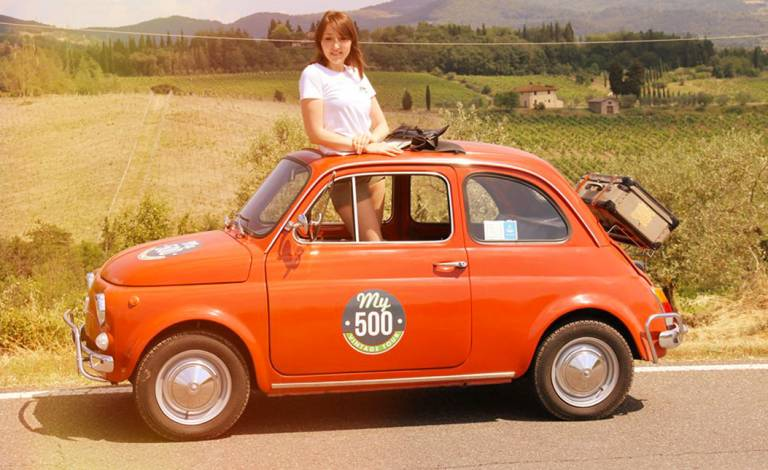 From Florence Fiat 500 Vintage Tour And Chianti Roads On Small Group