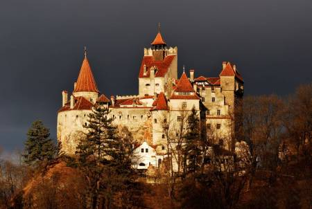bran castle romenia