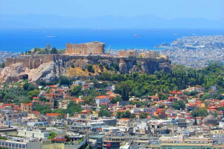 Athens City Center Hotels To Piraeus Port (Minivan, 1-7 Passengers)