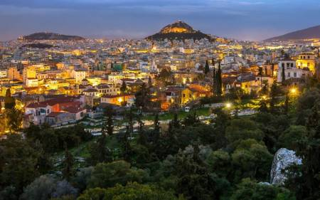 Athens City Center Hotels To Piraeus Port (Taxi, 1-3 Passengers)