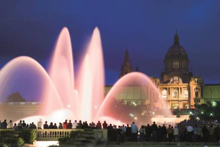 The Magic Fountain Night Tour, Barcelona