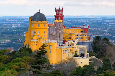 Private Day Tour . Sintra, Roca Cape And Cascais From Lisbon In Mini Van