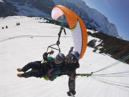 Experience Paragliding Tandemflight In Engelberg & Lucerne