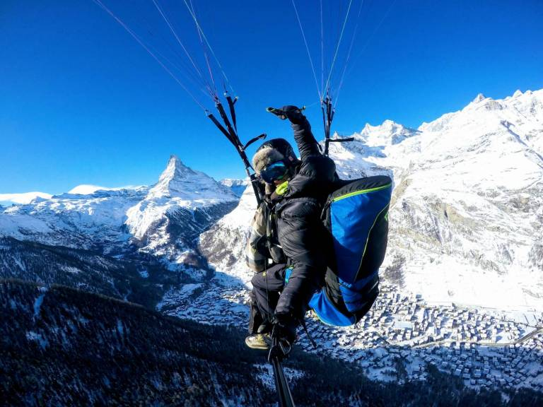 Zermatt Paragliding Flights Eagle