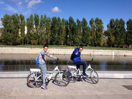 Bairro Literário De Madri E Parque Do Retiro, Tour Em Bicicleta Elétrica
