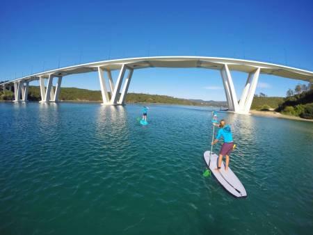 Stand Up Paddle Tour Sur La Rivière Mira – Vila Nova De Milfontes