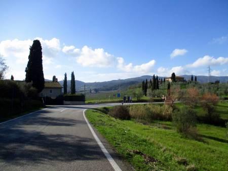 Private, Individuelle Radtouren In Der Toskanischen Landschaft Von Florenz
