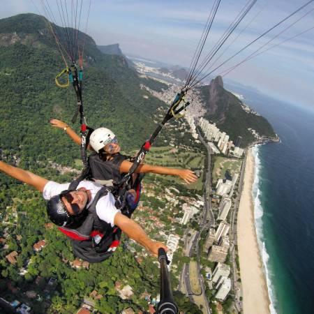 Gleitschirmflug, Rio De Janeiro