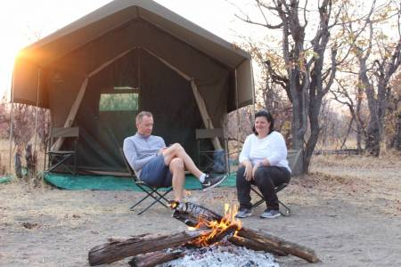 The Untouched Khwai, Savuti & Chobe River Front 7 Nights 8 Days Luxury Tented Camping Safari !