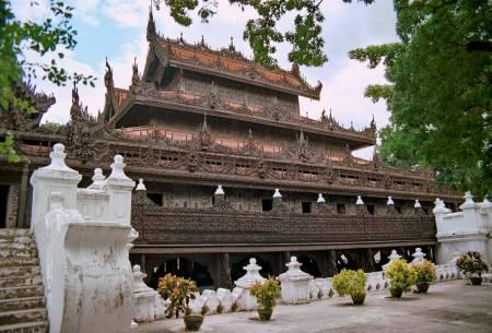 Inbin monastery Myanmar