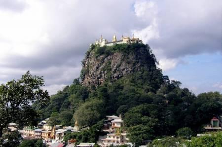 Sacred Mount Popa
