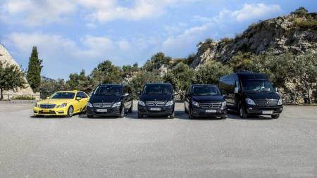 Piraeus Port To Athens City Center Hotels (Minivan, 1-7 Passengers)