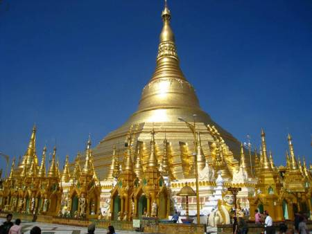 Golden Sule Pagoda