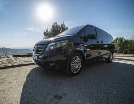 Athens Airport To Piraeus Port (Minivan, 1-7 Passengers)
