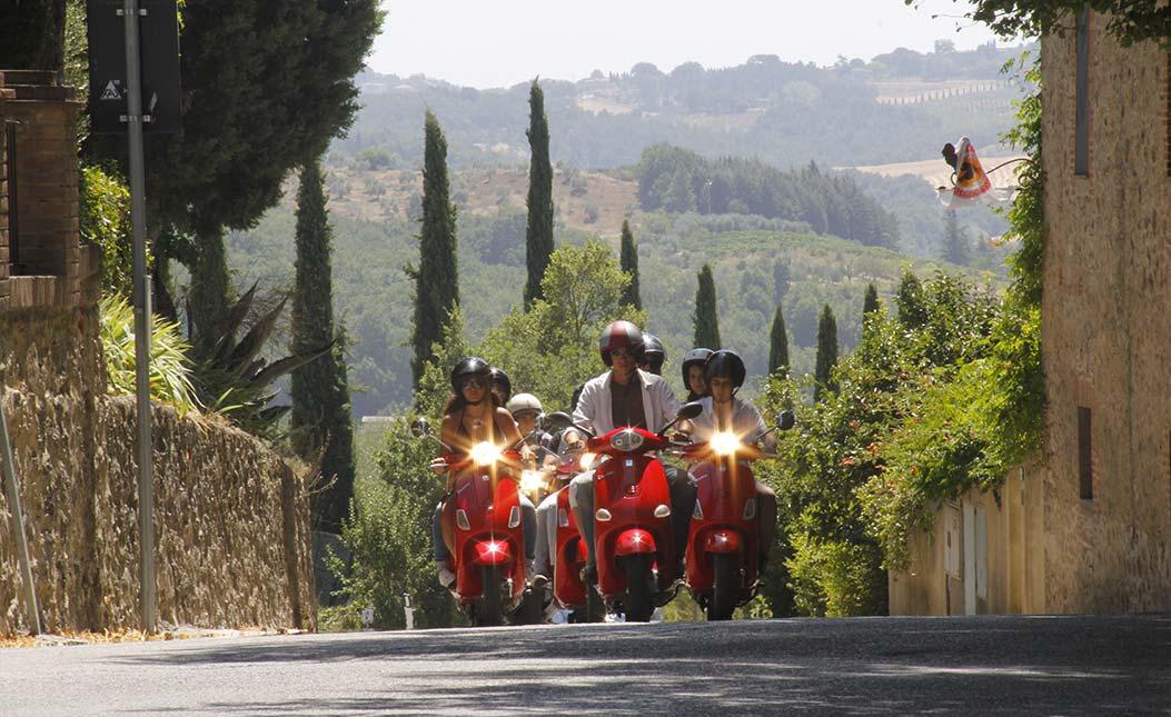 Chianti Vespa tour