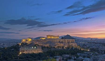 Half Day Athens City Tour (Taxi, 1-3 Passengers)