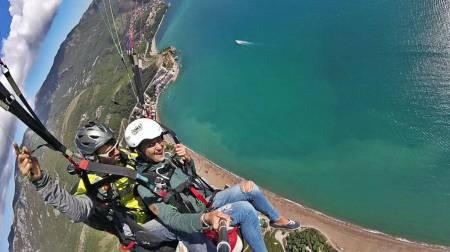 Tandem Paragliding In Budva Montenegro