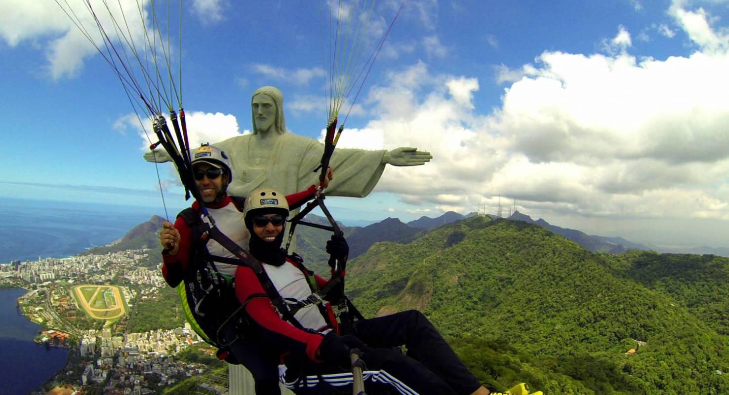 Paragliding Tandem Flight Rio de Janeiro Brazil