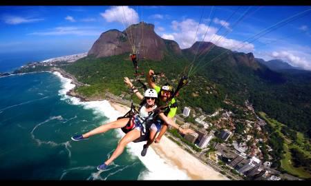 Paragliding Tandem Flight – Rio De Janeiro – Brazil