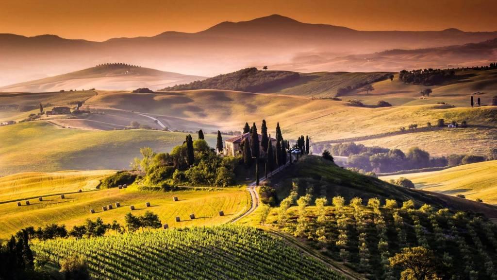 Geh zurück zu Toskana