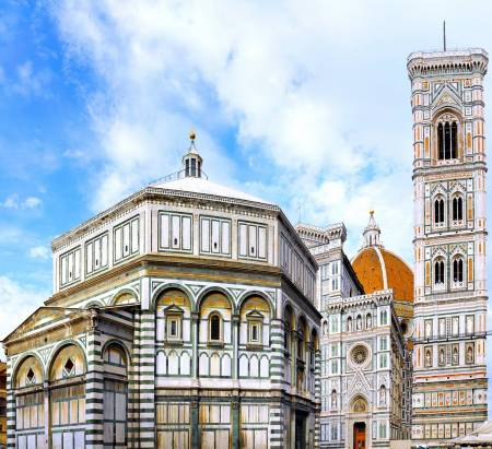 Florence: Walking City Tour & Uffizi Gallery Guided Tour