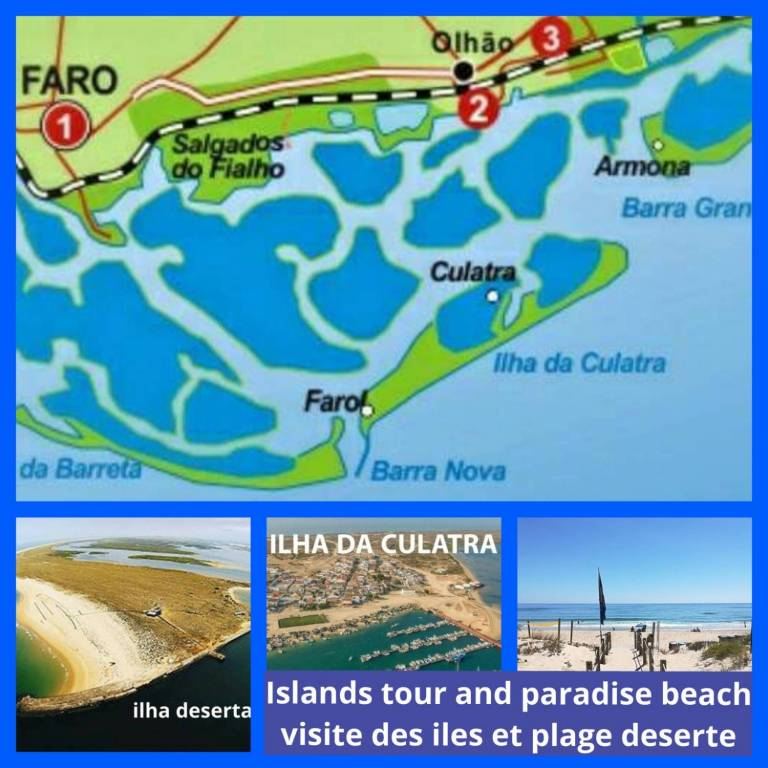 Ria Formosa Islands Boat Tour Lunch Experitour Com