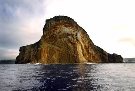 Ilhéus Do Arquipélago Dos Açores, A Partir Da Ilha Terceira