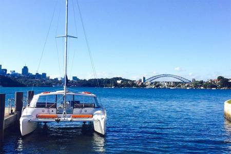 Full Day Historical Tour In Sydney Harbour On Catamaran With Lunch