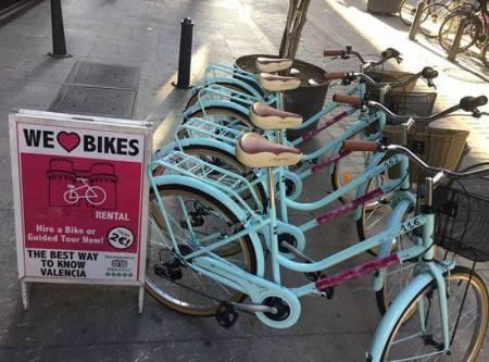 Alquilar Una Bicicleta De La Ciudad De, Valência