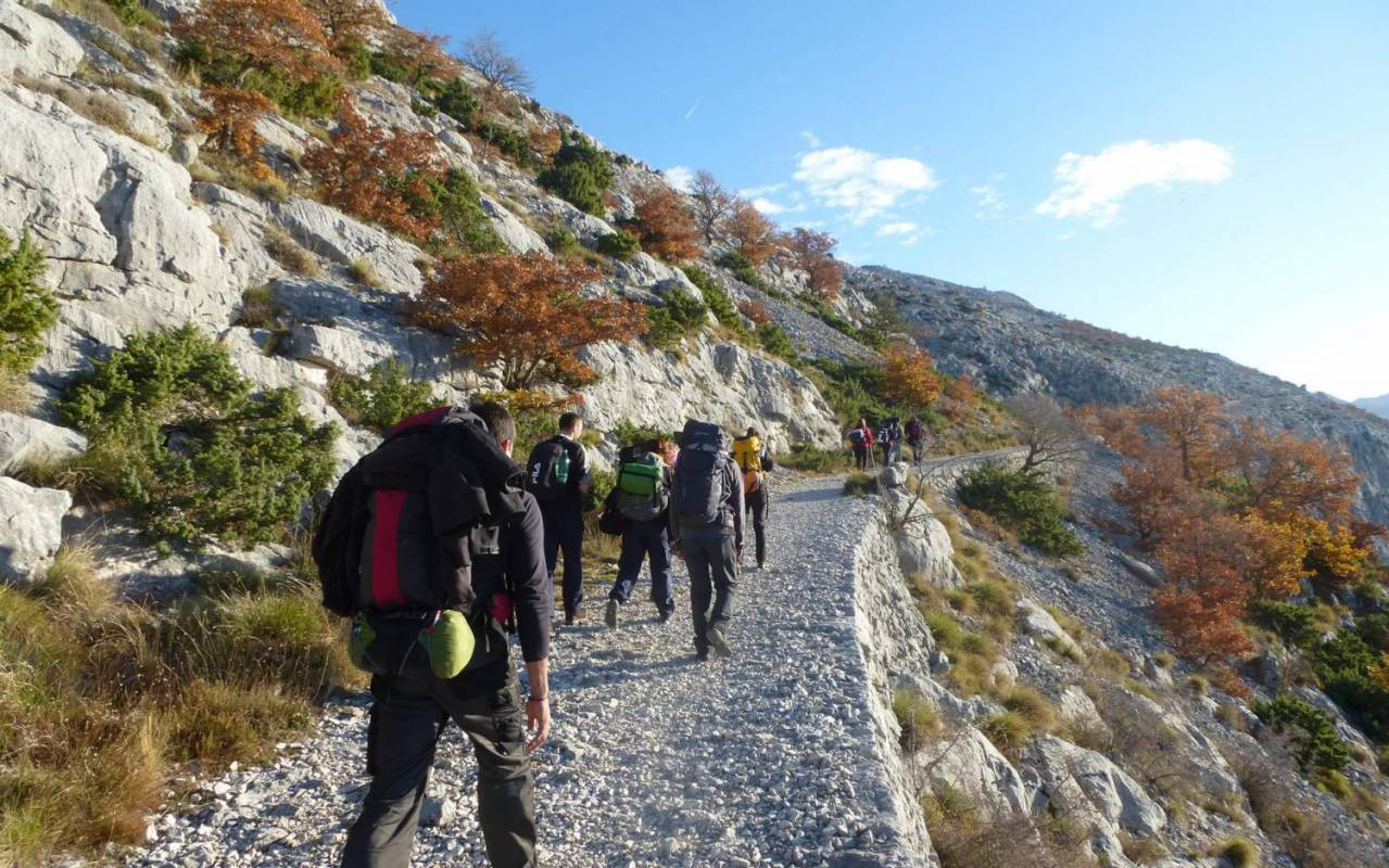 Hiking Mosor Mountain From Split, Croatia