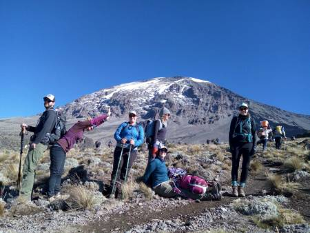 8 Days/7Nights Kilimanjro Trekking Via Lemosho Route