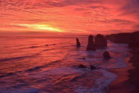 De Melbourne: Great Ocean Road Tour Au Coucher Du Soleil