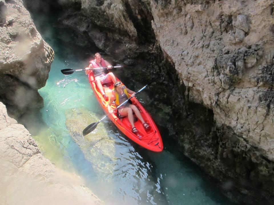 Kayak in Arrabida