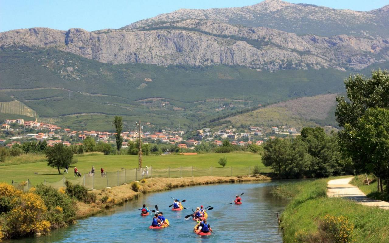 Sea + River Kayaking Tour In Split, Podstrana, Croatia