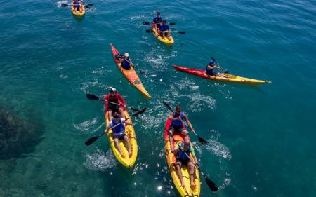 Sea + River Kayaking Tour In Split, Podstrana