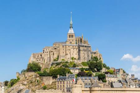 Mont Saint Michel 13H Private Tour Sedan Car 1 To 3 Pax